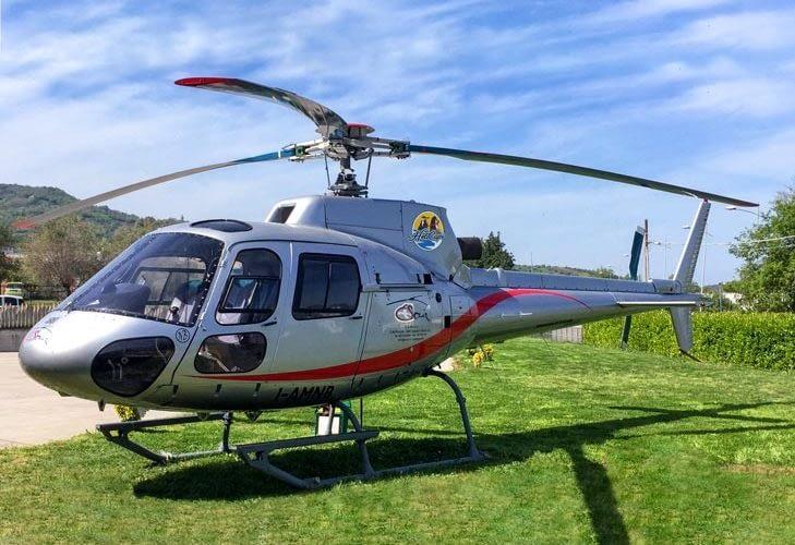 Volo in elicottero regalo